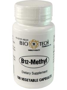 B12 Methyl 100 vegcaps