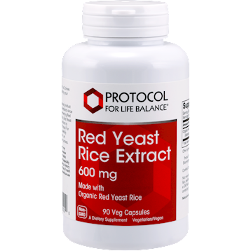 Red Yeast Rice Extract 90 vegcaps