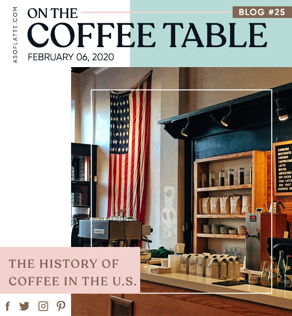 The History of Coffee in the United States