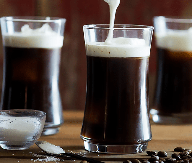Sea Salt Cream Iced Coffee Recipe