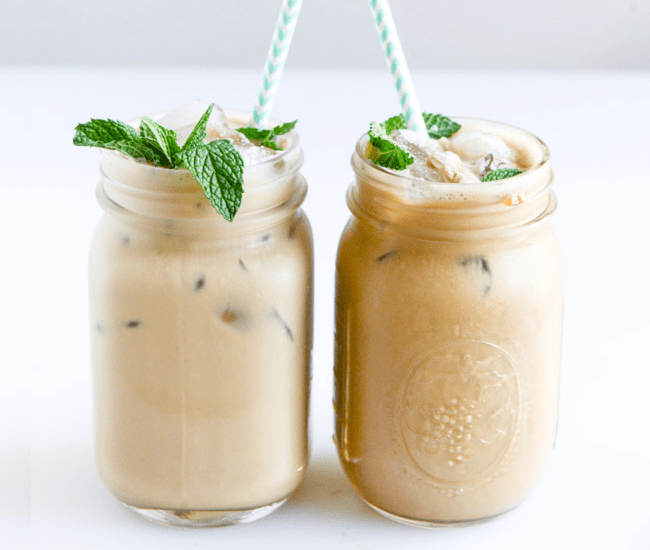 Fresh Mint Iced Coffee Recipe