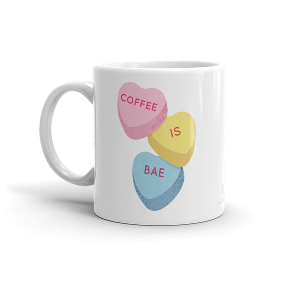 Candy Hearts 11oz Ceramic Mug
