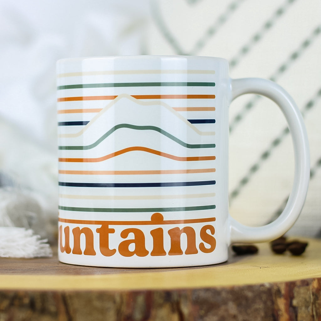 This sturdy 11oz ceramic coffee mug is perfect for morning coffee, afternoon tea, or whatever hot beverage you enjoy! Comes in a glossy white color & yields vivid printed graphic that retains its quality when dish-washed & microwaved. Dishwasher & microwave safe. Made in the USA. Ships worldwide. Christian bible verse.
