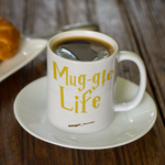 Harry Potter themed coffee mug