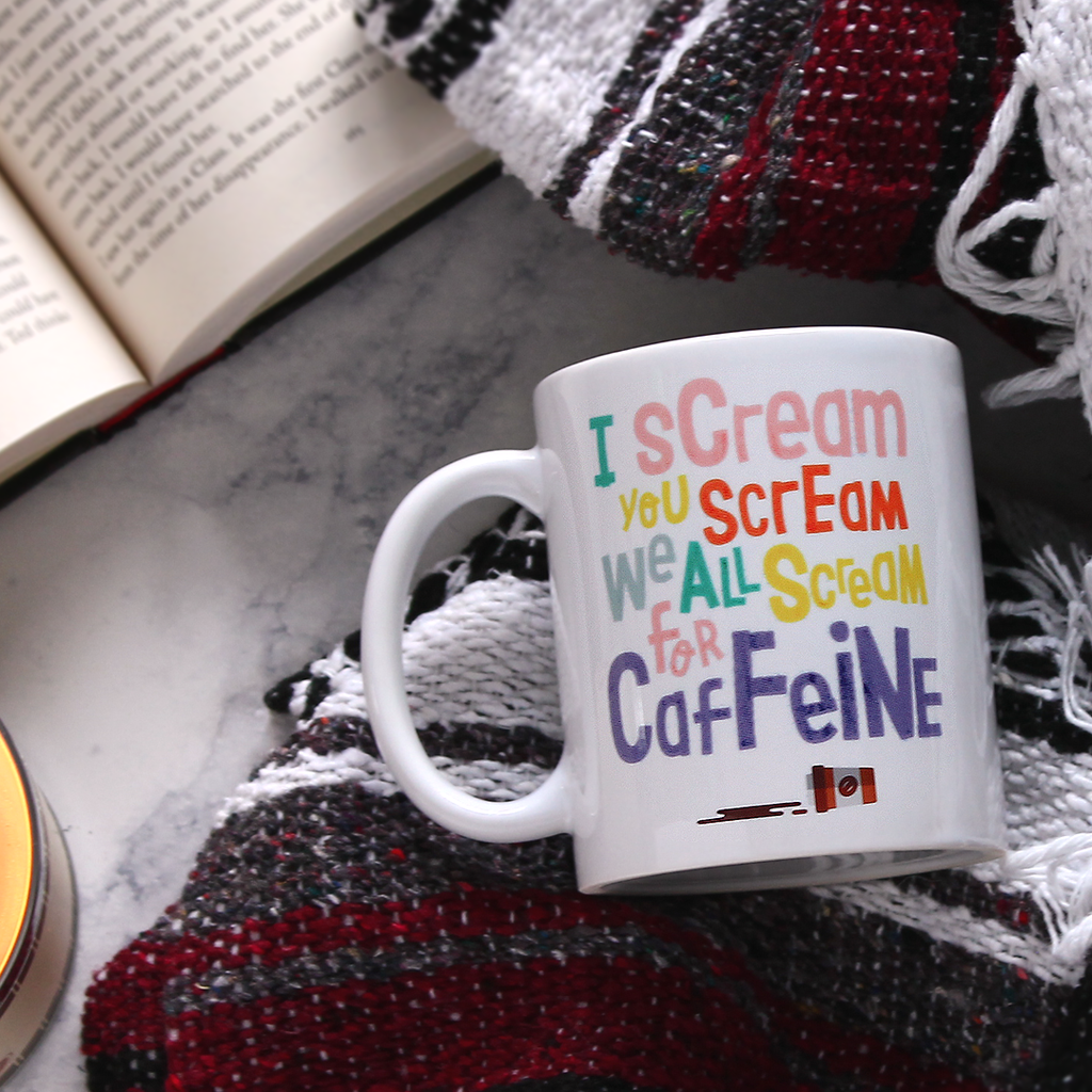 Scream for Caffeine - Mug