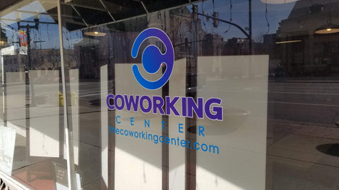 The Coworking Center in downtown Lima, Ohio