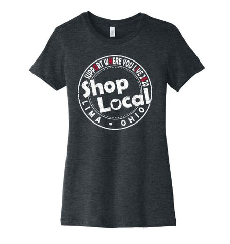 shop local t-shirt and support small business