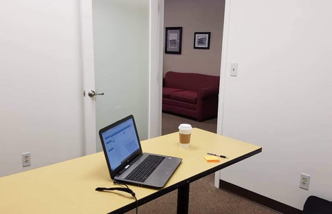 Private office at The Coworking Center