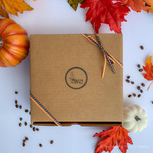 Fall / Autumn Coffee Sampler Gift, Featured Fall Flavors
