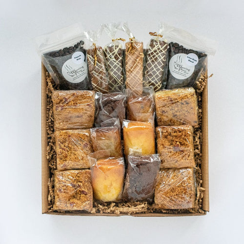 Premium Thank You Gift Basket, Handmade Baked Goods