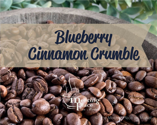 Blueberry Cinnamon Crumble Coffee Beans / Ground Coffee
