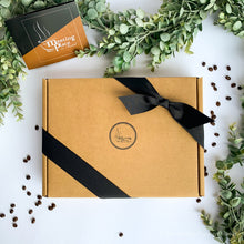 Virtual Meeting Coffee Gift Box with Mug, Gourmet Coffee, Tea, Notebook & Pen, Biscotti and Granola | Virtual Conference | Employee Gift