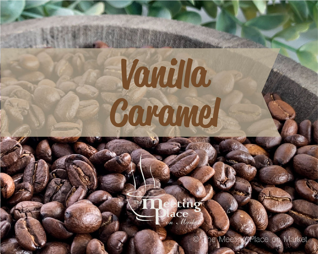 Vanilla Caramel Coffee Beans / Ground Coffee