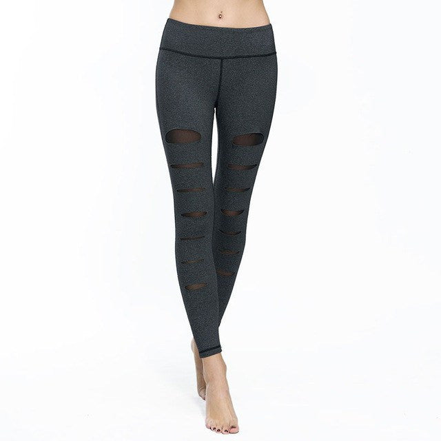 Leggings - Shredded Carte - Gray