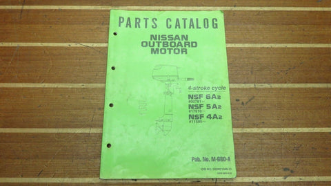 Nissan 002N21046-2 Genuine OEM M-680-A NSF 6A2 5A2 4A2 Outboard Parts Catalog