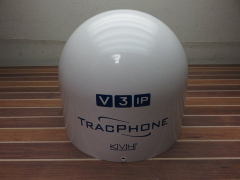 "KVH 01-0355-01 Boat Marine TracPhone VIP 15.5"" V3-IP Empty Satellite Dome Top Only V3IP"