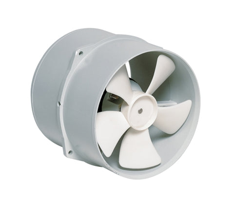 Vetus VENT17824 Marine Boat 178 mm 24V 3 Amp Extraction Ventilator Fan Blower