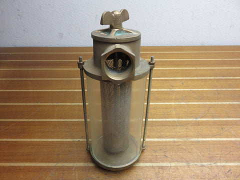 "Groco SA-1250 Marine SA Series 1-1/4"" NPT Monel Basket Raw Water Strainer"