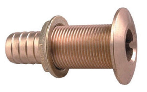 "Perko 0350004PLB Boat Marine Bronze 5/8"" Thru-Hull for Hose Fitting Connection"