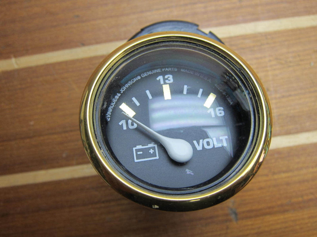 OMC Johnson Evinrude 775669 Genunie OEM Illuminated Volt Voltmeter Gauge  VP7095A
