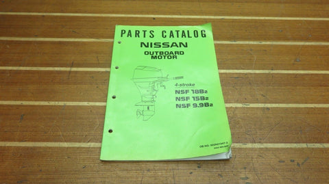 Nissan 002N21047-3 Genuine OEM NSF 18B2 15B2 9.9B2 Outboard Parts Catalog
