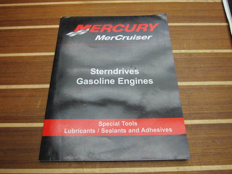 Mercury Manual Special Tools Lubricants Sealants and Adhesives 90-866948001