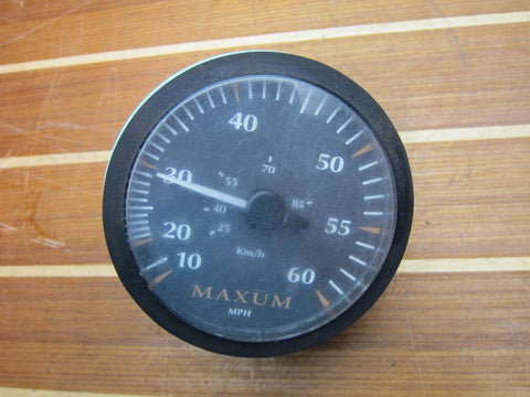 Maxum Bayliner Faria SE9746A 60 MPH Boat Speedometer Gauge 1723171