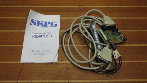 SYSCOM SKPG Programador PCB-09 Kenwood Programer with Cables