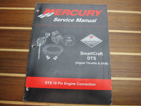 Mercury Marine 90-895372 SmartCraft DTS 10-Pin Engine Connection Service Manual - Second Wind Sales