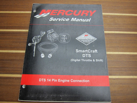 Mercury Marine 90-895072 Smart Craft Digital Throttle & Shift 14 Pin Engine Connection Service Manual - Second Wind Sales