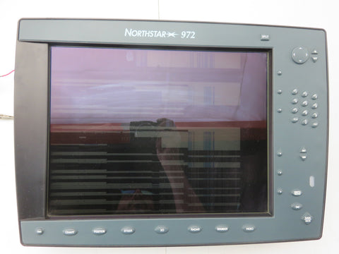 "Northstar 972 Boat Marine Color GPS Fishfinder Radar Chartplotter 15"" Display-"