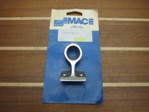 "MAC CO55053 Stainless Steel 60° Degree 7/8"" OD Forward Hand Rail Stanchion"