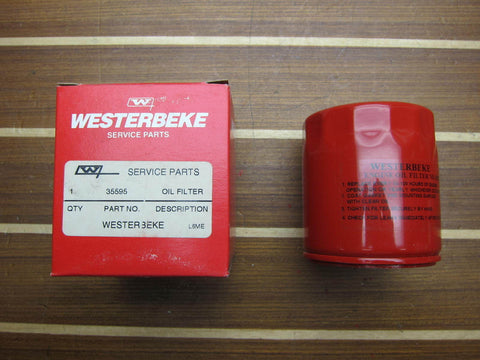 Westerbeke 35595 Genuine OEM Generator Lube Oil Filter