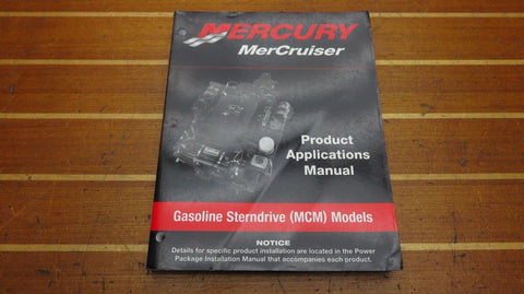MerCruiser 90-806697020 Genuine OEM Gasoline Sterndrive MCM�Product Applications
