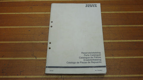 Volvo Penta 7734180-8 Genuine OEM 1993-06 D42 Marine Engine Parts Catalogue