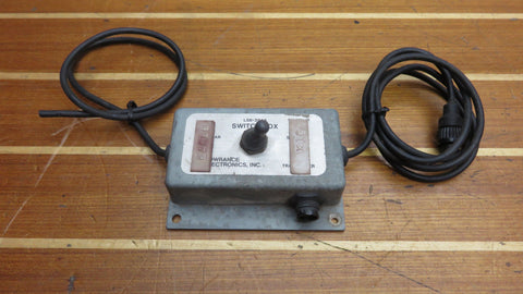 Lowrance LSB-201-A LSB-201A Transducer Switch Box for Sonar Fishfinder with Cable