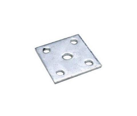 "Seachoice 55081 3"" L x 3-1/2"" W Galvanized Steel Boat Trailer Axle U-Bolt Plate"