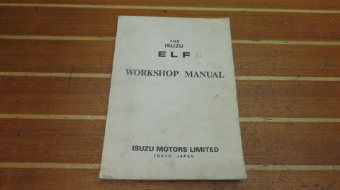 Isuzu ELF DL Series Genuine OEM Diesel Engine Fuel Electrical Workshop Manual - Second Wind Sales