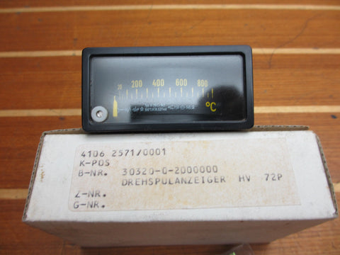 ABB Automation Products GmbH 30320-0-2000000 Thermocouple Temperature Indicator