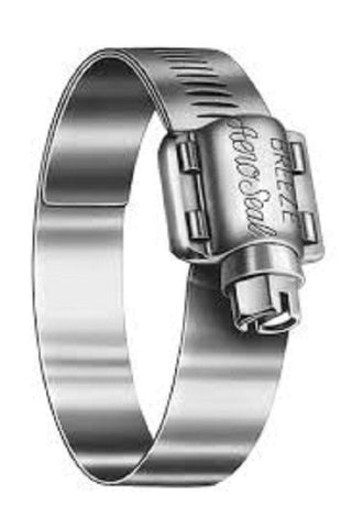 "Breeze 76096 Euro-Seal Marine Grade Stainless Steel 5-9/16""-6-1/2"" Hose Clamp (6)"