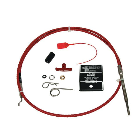 Sea-Fire 136-036 SMAC 36' Fire Suppression Manual Discharge Bi-Directional Cable