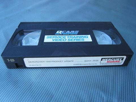 Mercury 90-823732-71 Genuine OEM Outboard 1999 Product Update Video Manual - Second Wind Sales