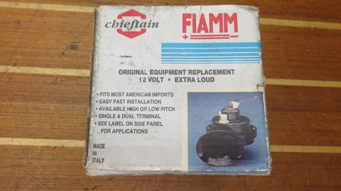 Chieftain FIAMM 3-0011 (TP/L) 12 Volt Extra Loud Car Truck Boat RV Horn