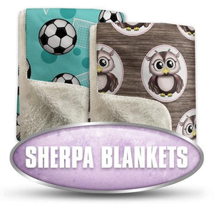 Sherpa Fleece Blankets | Speckle Rock