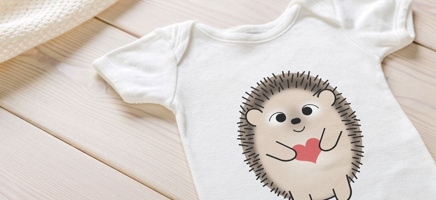 Adorable baby bodysuits for your favorite little humans.