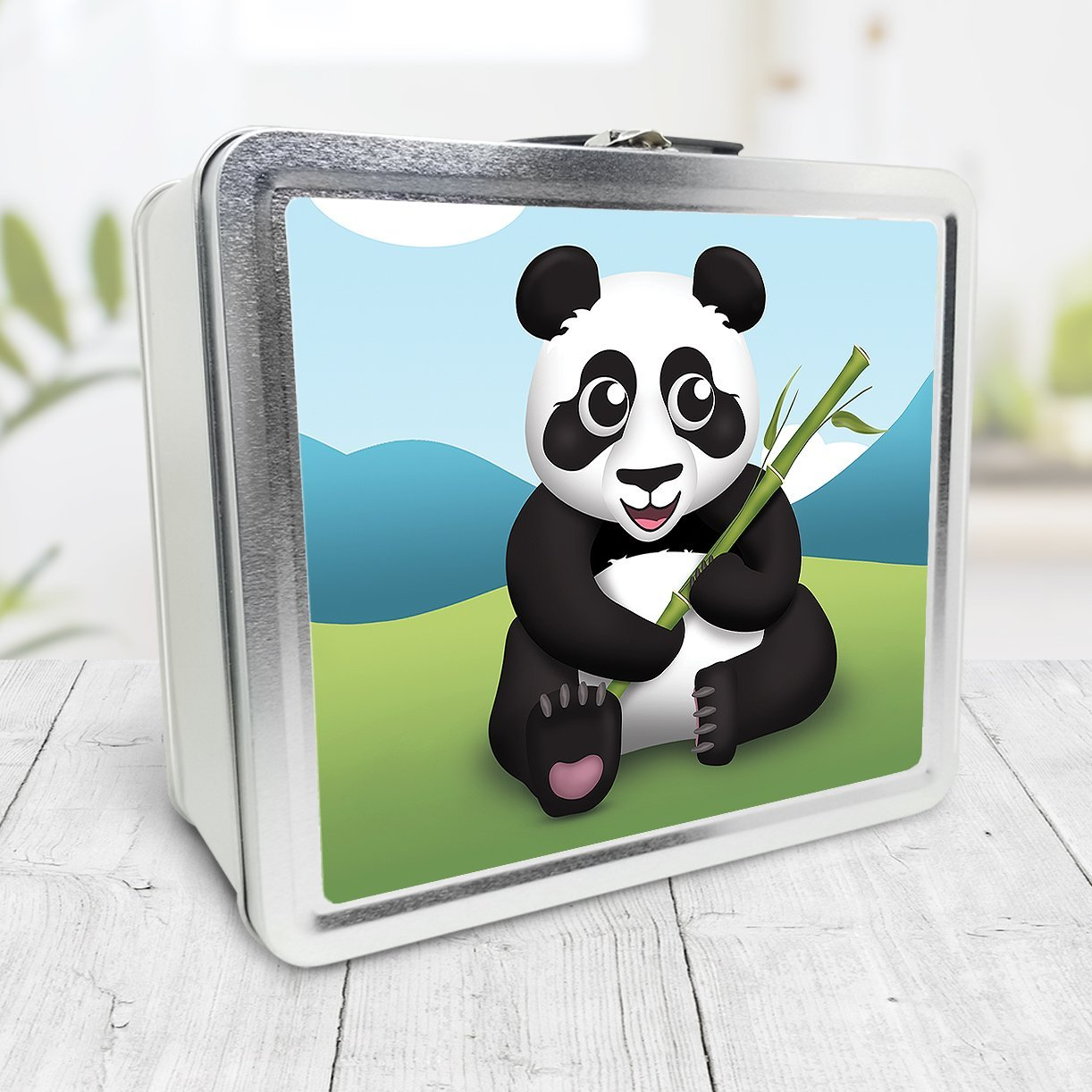 Cute Panda with Bamboo Lunch Box at Speckle Rock