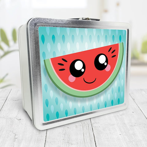 Smiling Watermelon Slice Lunch Box at Speckle Rock