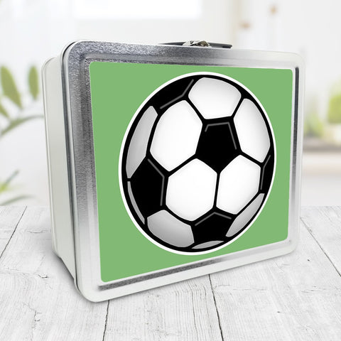 Soccer Ball Green Lunch Box at Speckle Rock