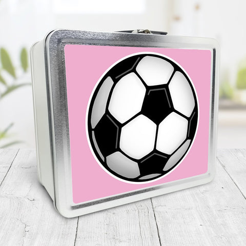 Soccer Ball Pink Lunch Box at Speckle Rock