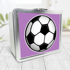 Soccer Ball Purple Lunch Box at Speckle Rock